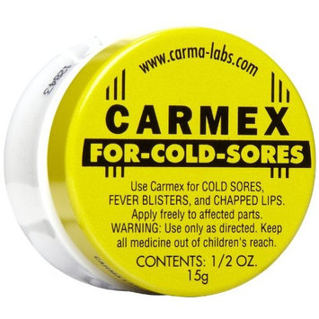 Special pack of 6 CARMEX LIP BALM EXTRA COLD SORE 0.5 oz