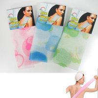 Atb 3 Hot Exfoliating Sauna Nylon Wash Cloth Towel Beauty Skin Bath Body Scrub Clean