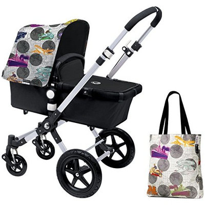 Bugaboo Cameleon3 Accessory Pack - Andy Warhol Transport/Dark Grey (Special Edition)