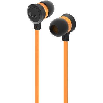 iLuv IEP334ORGN Neon Sound Earphones Accs Orange