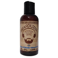 Beardilizer Beard Oil Collection - #4 Tea Tree Trance 4 Oz - Made with 100% Natural Ingredients