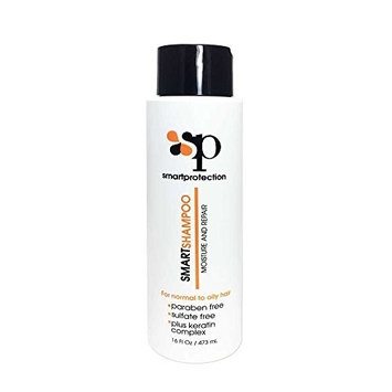 Moisture Shampoo Sulfate and Paraben Free 16oz for Keratin Treated Hair by Smart Protection