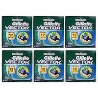 Vector Plus Refill Razor Blades 4 ct. (Pack of 6) + FREE LA Cross Manicure 74858