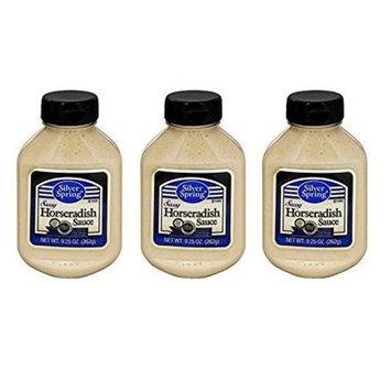 Silver Springs Sauce Horseradish 9.25 oz (Pack of 3)
