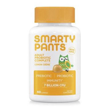 SmartyPants Adult Probiotic Gummies Lemon Crème - 60ct