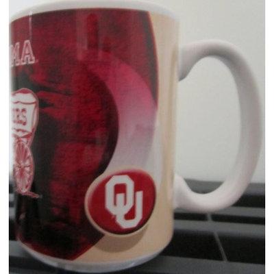 NCAA Officially Licensed Oklahoma Sooners 15oz Ceramic Coffee Mug