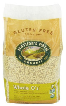 Natures Nature's Path Organic - Gluten Free Whole O's Cereal - 24.6 oz (pack of 12)
