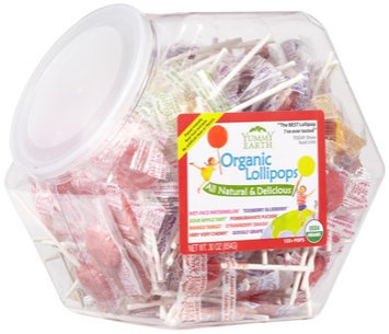 Yummy Earth Organic Vitamin C Pops Counter Bin - 150 Pops - HSG-337162