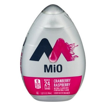 Mio Liquid Water Enhancer Cranberry Raspberry 1.62 Ounce (2 Bottles Total)