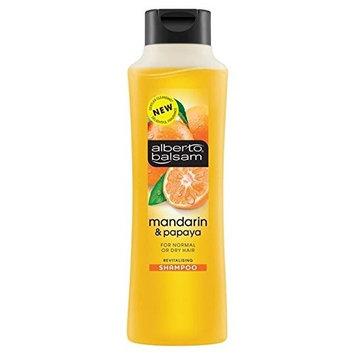 Alberto Balsam Mandarin & Papaya Shampoo 350ml (PACK OF 2)