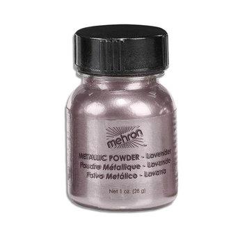 Mehron Eyeshadow Loose Powder, Lavender Metallic Shimmer Makeup, 1 ounce