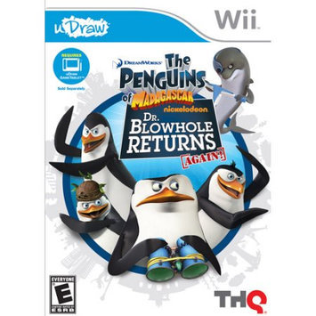 Thq Udraw Penguins of Madagascar: Dr. Blowhole Returns