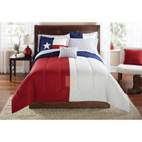 Mainstays Texas Star Bed in a Bag Coordinating Bedding Set
