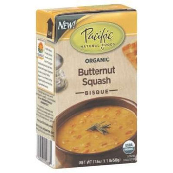 Pacific Natural Foods Bisque Butternut Squash 17.6 Oz (Pack of 12) - Pack Of 12