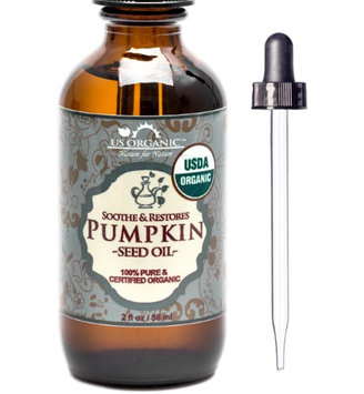 Us Organic 100% Pure Certified USDA Organic - Pumpkin Seed Oil 2 oz