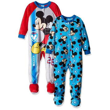 Disney Boys' Mickey Mouse 2-Pack Blanket Sleeper