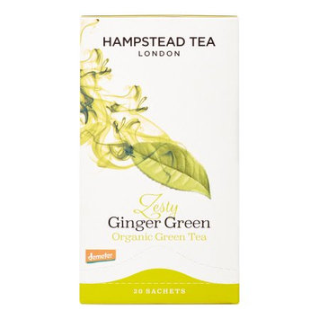 Brand Hampstead Zesty Ginger Green Tea 20bags