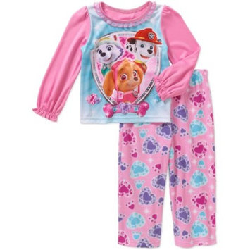 Baby Toddler Girl Long Sleeve Pajama Sleepwear Set