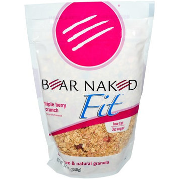 Bear Naked, Fit, 100% Pure & Natural Granola, Triple Berry Crunch, 12 oz (pack of 1)