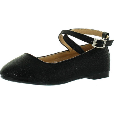 LJ-Adorababy Girls BA0040/41 Dress Flats with Twist Strap Closure Shoes