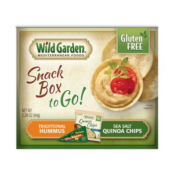 Wild Garden Quinoa Chips Combo Traditional, 2.26 OZ (Pack of 4)