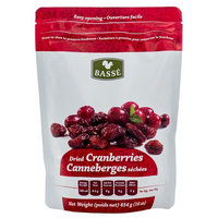 Basse Nuts Basse Dried Fruits Cranberries (1lb.) Eat Healthier With This Good Snack; Crazy Cranium-Cracking Cranberries! (2x16oz)