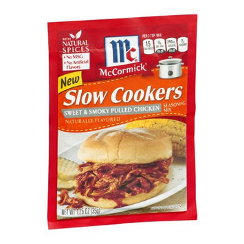 McCormick Sweet & Smoky Pulled Chicken, 1.25 OZ (Pack of 4)