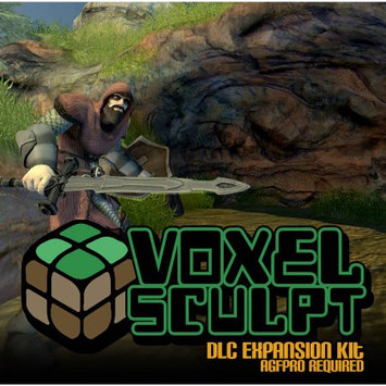 Axis Game Factory 352111 Voxel Sculpt Is Yet Another (Dlc) In Axis Game Factory Agfpro Lin
