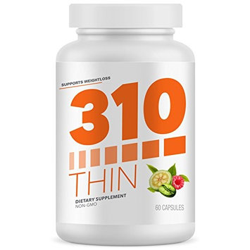 310 Thin Metabolism Booster with Garcinia Cambogia | Green Coffee and Ketones Extract | Crush Cravings and Boost Metabolism | Fight Hunger | Control Cravings | Enhance Energy [310 Thin 2.0]