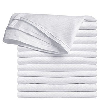 TOP- NOTCH BIRDSEYE Cloth, Extra Absorbent, Extra Comfort For newborn 27x27 100% Cotton For everyday use.(1 1/2dozen)