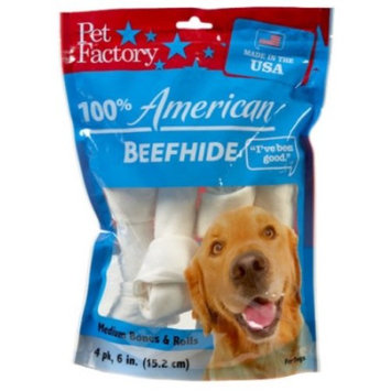 Usa Medium Dog Bone Assortment, 6