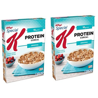 Kellogg's Special K Cereal, Protein, 12.5 Ounce, 2 Pack
