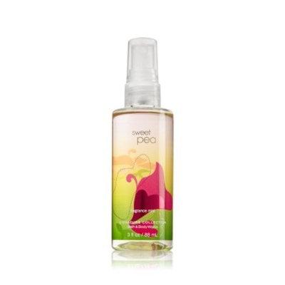 Bath & Body Works Travel Size Sweet Pea Fragrance Mist (3 fl oz)