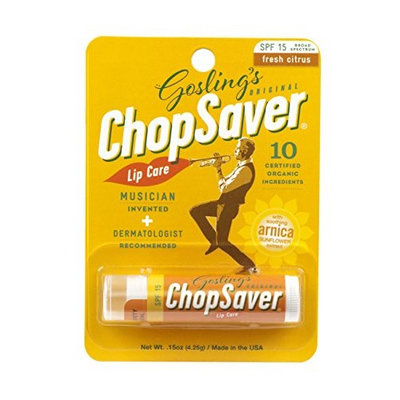 Goslings Original ChopSaver SPF 15 Lip Care, 0.15 Ounce (Pack of 6)