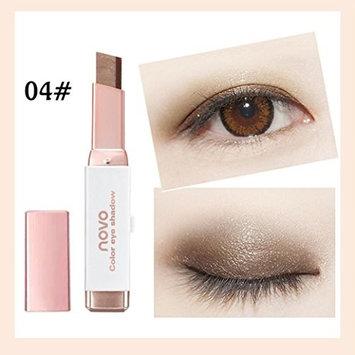 HP95(TM) Fashion Gradient Two-Color Eyeshadow Pencil Shimmer Eye Shadow Palette Stick Eye Cream Pen