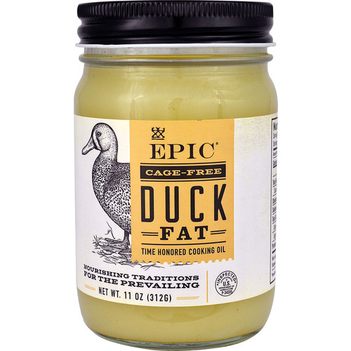 Epic Nutrition Cage-Free Duck Fat -- 11 oz