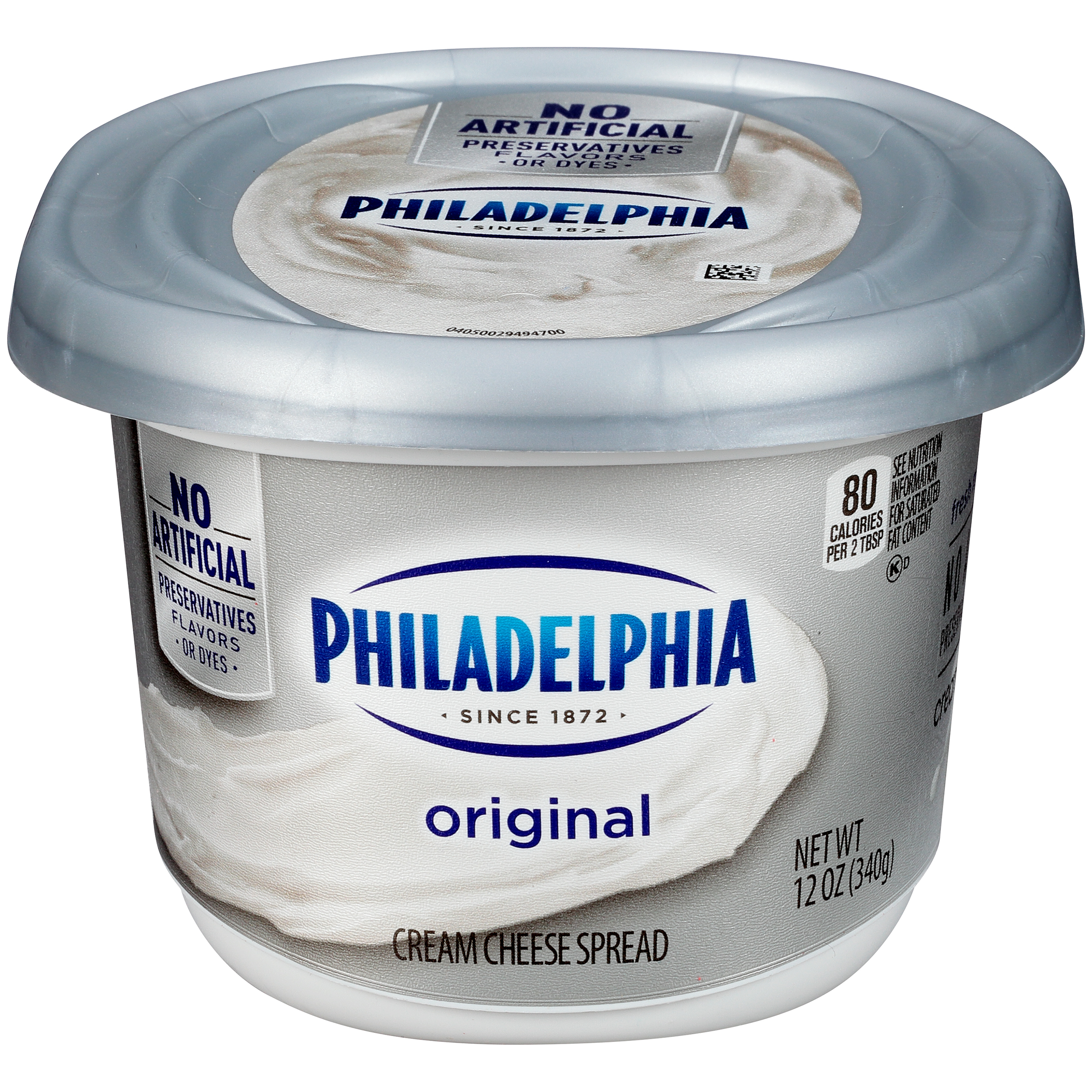 Philadelphia Plain Cream Cheese