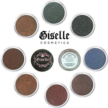 Eye Shadow - Mineral Makeup Eyeshadow Powder, Foundation, Concealer, Blush, and Contouring Palette   Pure, Non-Diluted Shimmer Mineral Make Up in 8 Renaissance Hues and Shades For All Skin