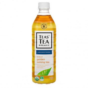 Teas' Tea Unsweetened Golden Oolong Tea 16.9 oz Plastic Bottles - Pack of 12