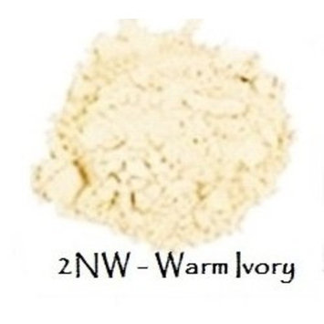 Mineral Foundation Lightest Shades - Porcelain Through Ivory (2 NW Warm Ivory 25g)