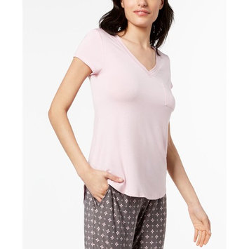 Solid Pajama Top & Printed Pants, Created for Macy's