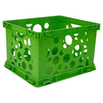 Storex® Mini Stackable Storage Crates 3ct