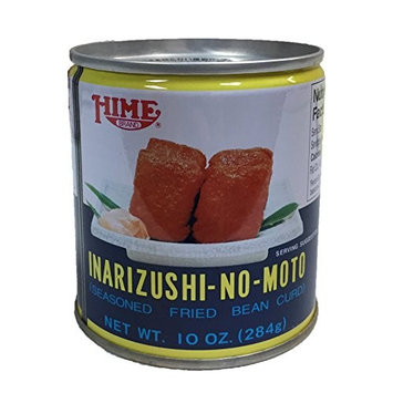 Hime Inarizushi-No-Moto Seasoned Fried Bean Curd Canned 10 oz (4 Can)