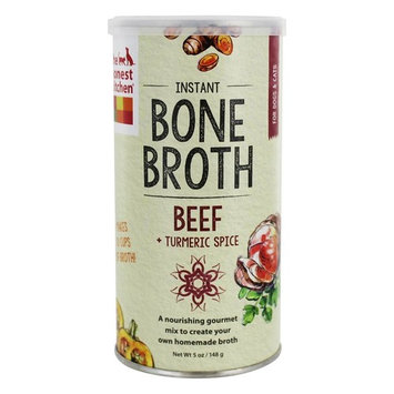 Instant Bone Broth + Turmeric Powder for Dogs & Cats Beef - 5 oz.