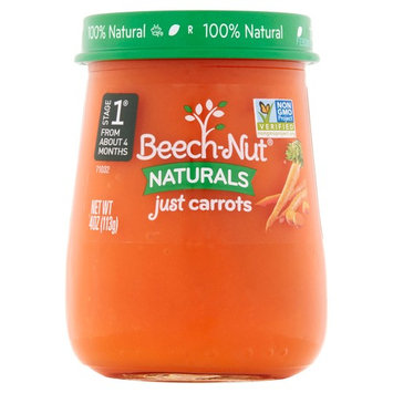 Beech-Nut Naturals Just Carrots Stage 1, 4.0 OZ
