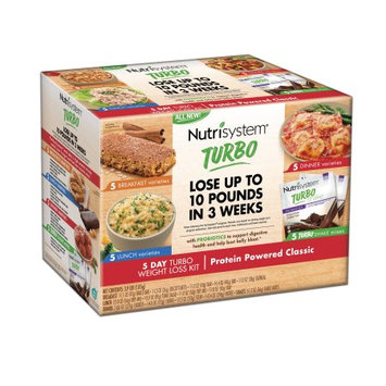 Nutrisystem 5 Day Turbo Weight Loss Kit, Protein Powered Classic