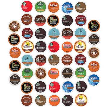 Keurig K Cups Coffee Pods Variety Pack, Single serve, Premium Sampler, (50 Count)