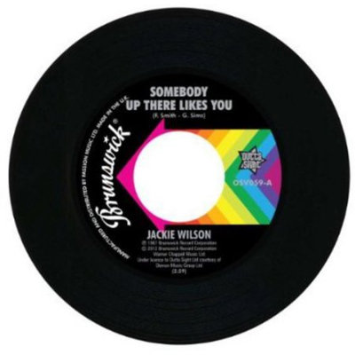 Fye SOMEBODY UP THERE LIKES YOU/A LOVELY WAY TO DIE by JACKIE WILSON