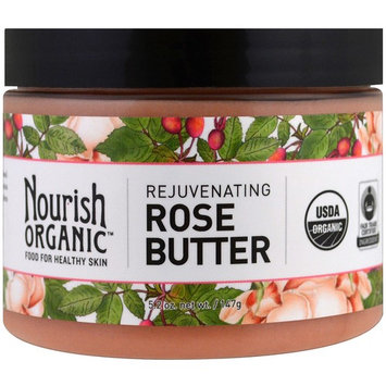 Nourish Organic Rejuvenating Rose Butter -- 5.2 oz