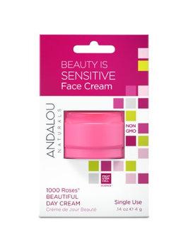 Beauty Is Sensitive Face Cream Pod Andalou Naturals .14 oz Cream